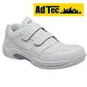AdTec White Slip-Resistant Shoes - 33.32
