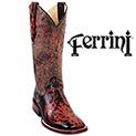 Women's Ferrini Western Boots - 99.99