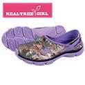 Realtree Girl Women's Purple Slip-Ons - 19.99