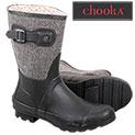 Chooka Women's Black Waterproof Boots - 17.99