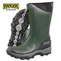Ranger Men's Olive Green Pike Rubber Boots - 39.99