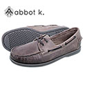 Abbot K Men's Grey Boardwalk Boat Shoes - 29.99