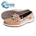 Island Surf Women's Parchment Sanibel Boat Shoes - 24.99