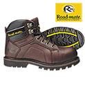 Roadmate Men's Brown Gravel Work Boots - 24.99
