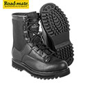 Roadmate Men's Full Grain Leather Black 8 Inch Cordura Tactical Boots - 29.99