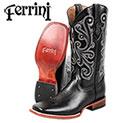 Ferrini Men's Black Calf Boots - 69.99