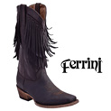 Ferrini Women's Chocolate Desperado Boots - 59.99