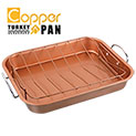 Copper Non-Stick Roasting Pan - 16.99