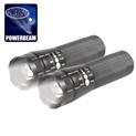 2PK 5W Tactical Flashlights - 24.99