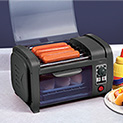Coney Island Countertop Hot Dog Roller - 34.99