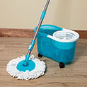 Viatek Clean Spin 360 Mop with Wheels - 24.99
