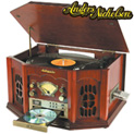 Cherry Anders Nicholson Nostalgia Turntable System - 89.99