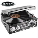 Jensen JTA-300 3-Speed Turntable with AM/FM Radio - 59.99