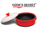 Viatek MG01G Cooks Secret Microwave Grill Pan - 24.99