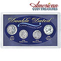 American Coin Treasures Double Dated Coins - 33.32