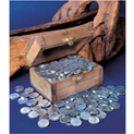 Treasure Chest of 1943 Lincoln Steel Pennies - 59.99