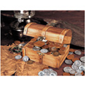 Treasure Chest of 51 Historic Coins - 59.99