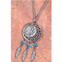 Buffalo Nickel Dream Catcher Pendant - 29.99
