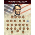 The Last 25 Years of Lincoln Wheat Penny Collection (1934-1958) - 29.99
