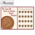 1890-1909 Indian Head Pennies - 79.99