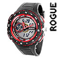 Rogue RG10882RD Black & Red Watch - 29.99