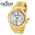 Croton Gold Diamond Watch - 39.99
