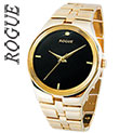 Rogue Men's Gold Diamond Watch - 24.99