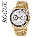 Rogue Gold Chrono Men's Watch - 49.99