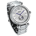 Rogue Sub-Dial Watch - Silver - 26.99