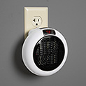 Mini Outlet Space Heater - 600W Insta Heater - 17.99