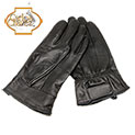 Mens Leather Insulated Gloves - Black - 14.99