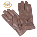 Mens Leather Insulated Gloves - Brown - 19.98