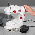 iBoost 2-Speed Sewing Machine with Manual Threader - 29.99