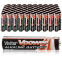 Vivitar Alkaline AAA Batteries - 100 Pack - 29.99