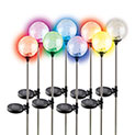 Sol Mar Crackled Solar Color Changing Lights - 34.99