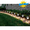 10-Pack Crown Solar Lights - 22.21