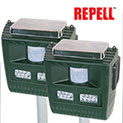 Repell 3-in-1 Solar Animal Repeller - 2 Pack - 66.66
