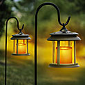 Flicker Candle Solar Lights - Pair - 24.99