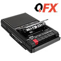 QFX Retro-39 Shoe Box Tape Recorder - 33.32