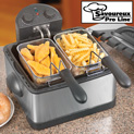 Dual Deep Fat Fryer - 39.99