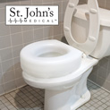St. John's Medical Raised Toilet Seat - 29.99