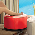 Splash-N-Dash Inflatable Outdoor Ottoman - 24.99
