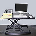 Meridian Point Adjustable Height Standing Desk - 129.99