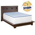 Snuggle Home 3 Inch Gel Foam Mattress Topper - 89.99