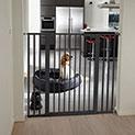 Scandinavian Black Pet Premier Gate - 89.99