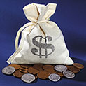 American Coin Treasures Bankers Bag Old Rare Coins - 39.99