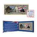 Matthew Mint Colorized Veterans 2 Dollar Bill - 24.99