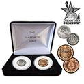 Mathew Mint 2-Cent & 3-Cent Coins - 88.88