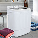 Zeny Products Compact Twin Tub Washing Machine - 99.99