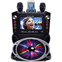 Karaoke USA GF846 Color Changing Karaoke Machine - 179.99